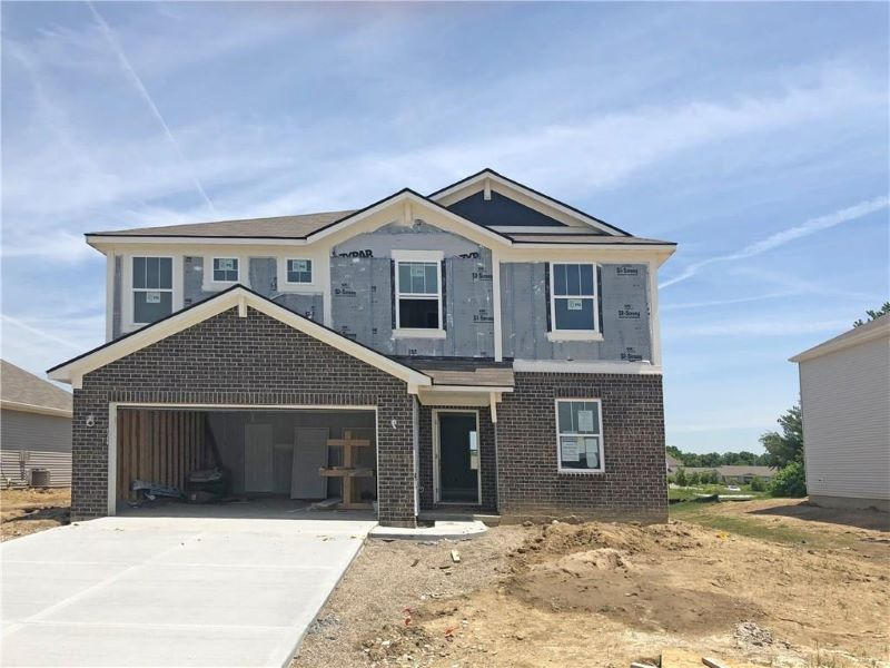 Photos shown may be an artist rendering, model home, or of the same model due to current construction stage different location.