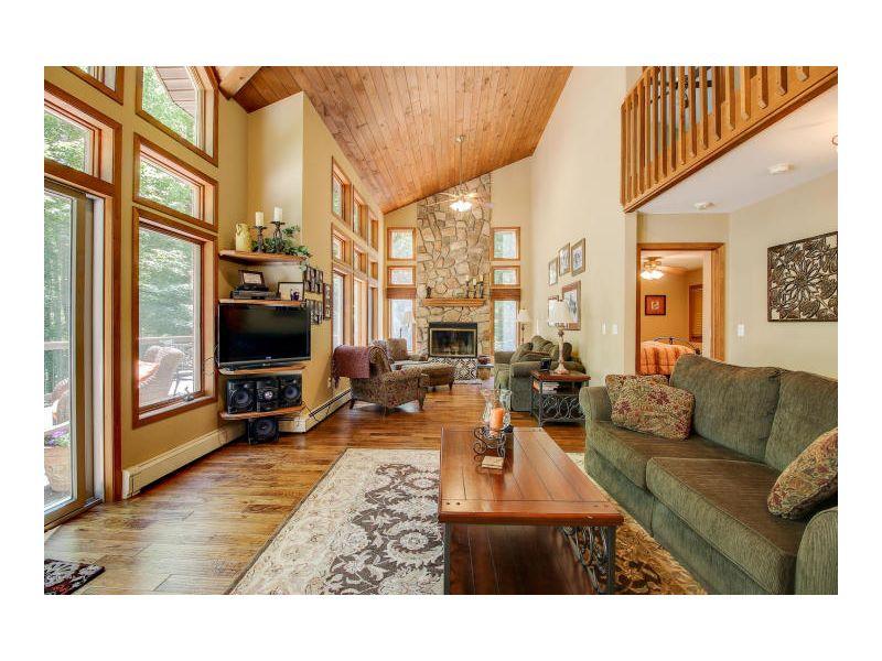 14-Living Room Fireplace