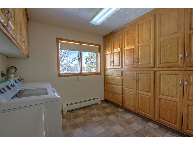 Huge Laundry Room with Loads of Storage