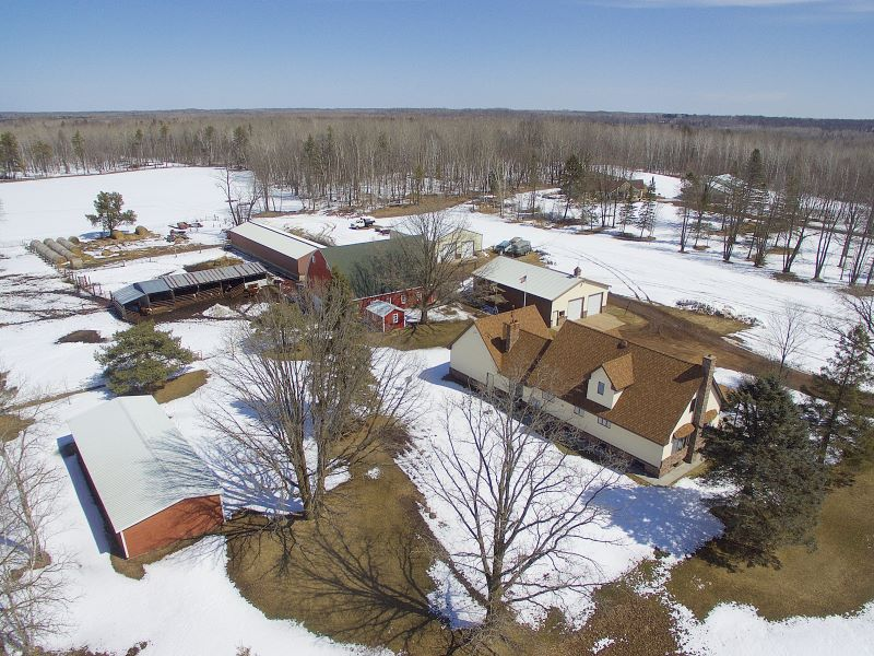 Aerial View Looking Northeast