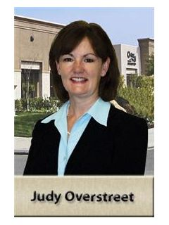 Judy Overstreet - Real Estate Agent