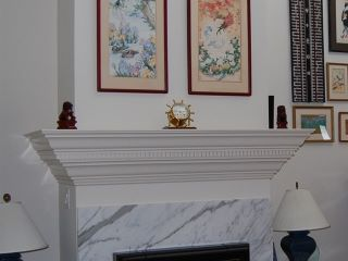 009_5 marble fireplace